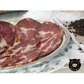 Capocollo di suino nero (black pig) di Calabria
