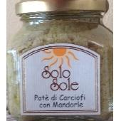 Pat� di Carciofi con Mandorle  - SoloSole