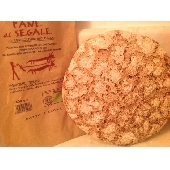 Stonebaked organic bread with rye flour - Forno Astori