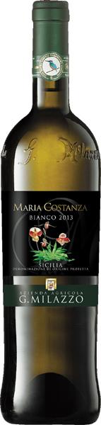 MARIA COSTANZA bianco Sicilia D.O.P. - Cantina Milazzo