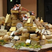 Tasting of 6 Italian cheeses
