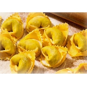 Typical Hand Made Tortellini di Valeggio with Meat Stuffing - Pastificio Menini