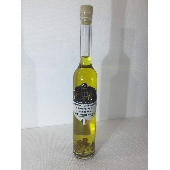Condiment flavored with Black Truffle made with Extra Virgin Olive Oil with Truffle flakes. - Tartufi Dominici